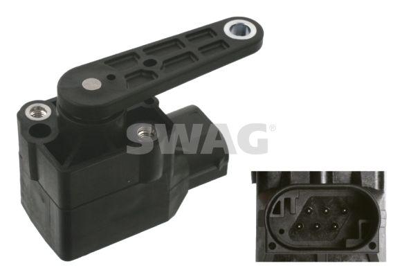 Sensor, Xenonlicht (Leuchtweiteregulierung) SWAG 10 93 7150