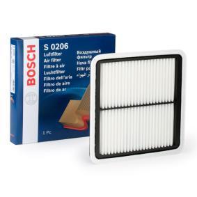 Günstige Luftfilter mit Artikelnummer: F 026 400 206 SUBARU IMPREZA jetzt bestellen