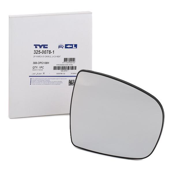 TYC: Original Rückspiegelglas 325-0078-1 ()