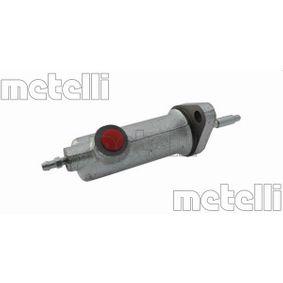 Įsigyti ir pakeisti darbinis cilindras, sankaba METELLI 54-0018