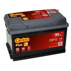 CB712 Batteri CENTRA CB712 Stor urvalssektion — enorma rabatter