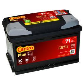 CB712 Batteri CENTRA - Upplev rabatterade priser