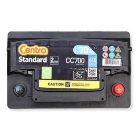 CC700 CENTRA Standard Batterie-Kapazität: 70Ah Kälteprüfstrom EN: 640A, Spannung: 12V, Polanordnung: 0 Starterbatterie CC700 günstig kaufen
