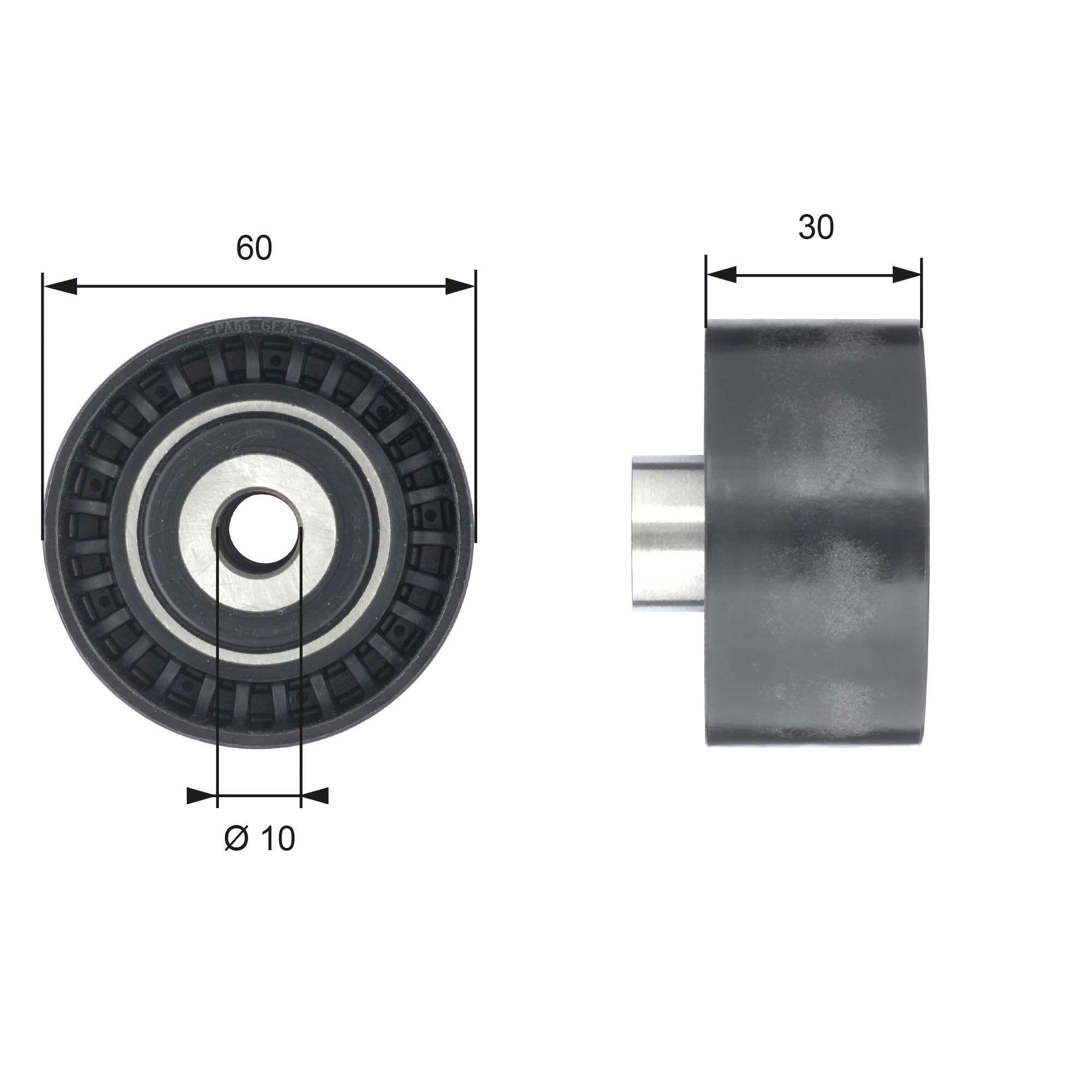 778621570 GATES BOOST™ CVT Belt Umlenkrolle Zahnriemen T42199 günstig kaufen