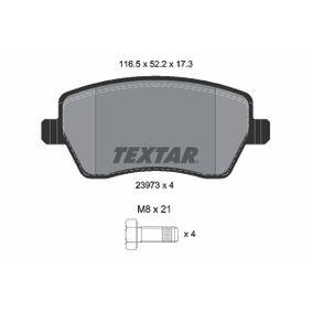 2397301 Bremsklötze TEXTAR Erfahrung