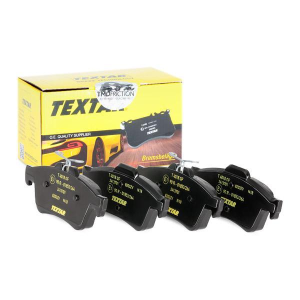 2413701 Bremsbelagsatz TEXTAR - Markenprodukte billig