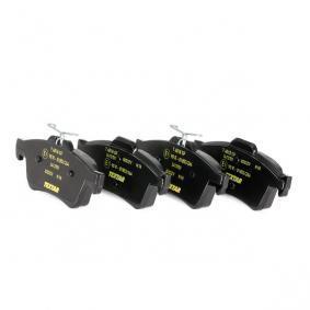 8497D1388 TEXTAR für Verschleißwarnanzeiger vorbereitet Höhe: 51,9mm, Breite: 123,2mm, Dicke/Stärke: 16,7mm Bremsbelagsatz, Scheibenbremse 2413701 günstig kaufen
