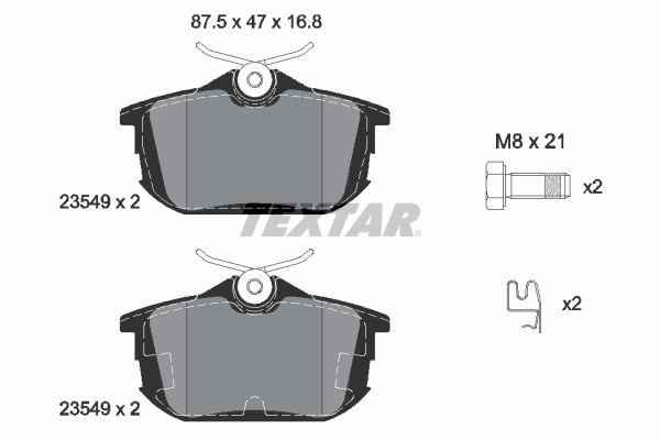 Bremsbeläge TEXTAR 2354901