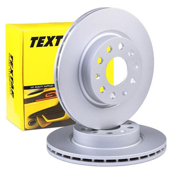 TEXTAR   Bremsscheibe 92120705