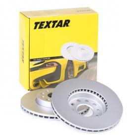 98200120801PRO TEXTAR PRO+ Innenbelüftet, beschichtet, hochgekohlt, ohne Radnabe, ohne Radbefestigungsbolzen Ø: 288mm, Bremsscheibendicke: 24,9mm Bremsscheibe 92120805 günstig kaufen