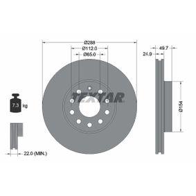 92120805 Scheibenbremsen TEXTAR - Markenprodukte billig