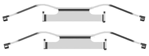 OE Original Bremssattel Reparatur Set 82076900 TEXTAR