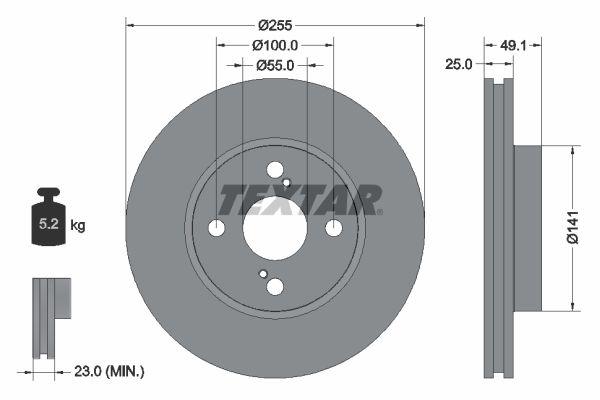 Bremsscheibe TEXTAR 92125903 Bewertungen