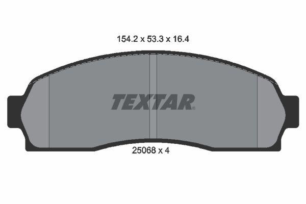 Original FORD USA Bremsbelagsatz 2506801