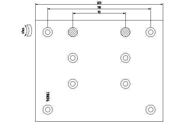 TEXTAR Bremsbelagsatz, Trommelbremse für MAN - Artikelnummer: 1949604