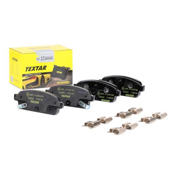 TEXTAR   Bremsbelagsatz, Scheibenbremse 2509602
