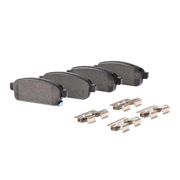 2509602 Bremsbelagsatz TEXTAR - Markenprodukte billig