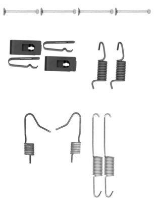 TEXTAR Zubehörsatz, Feststellbremsbacken 97036900