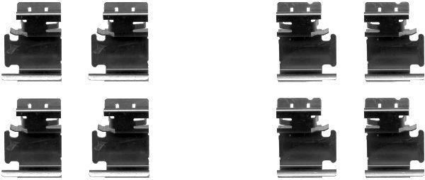 Reservdelar GERMAN E-CARS PLANTOS 2013: Tillbehörssats, skivbromsbelägg TEXTAR 82054300 till rabatterat pris — köp nu!