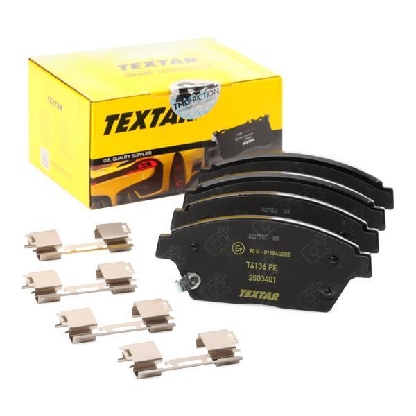 2503401 TEXTAR Bremsbelagsatz, Scheibenbremse Bewertung