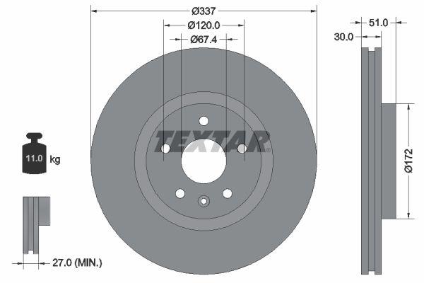 Bremsscheibe TEXTAR 92187103 Bewertungen