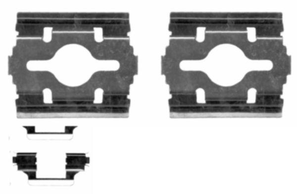 82505900 TEXTAR Zubehörsatz, Scheibenbremsbelag billiger online kaufen