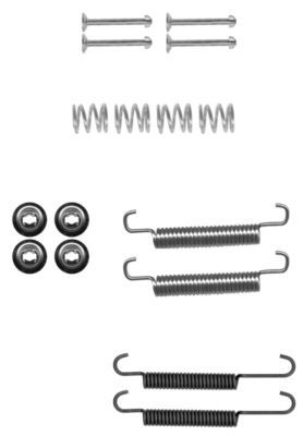 OE Original Zubehörsatz Bremsbacken 97036600 TEXTAR