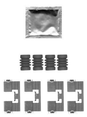 Original OPEL Zubehörsatz, Scheibenbremsbelag 82516700