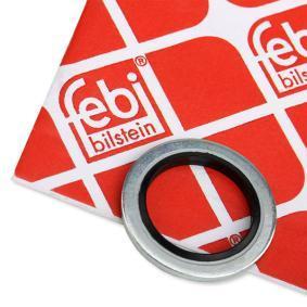 44793 FEBI BILSTEIN Gummi/Metall Dicke/Stärke: 1,5mm, Ø: 24,0mm, Innendurchmesser: 16,7mm Ölablaßschraube Dichtung 44793 günstig kaufen