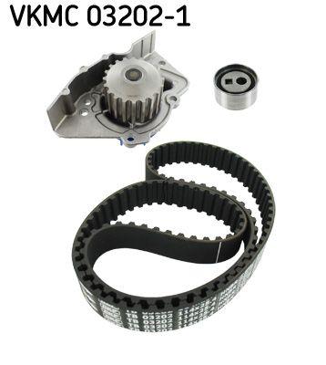 VKPC83420 SKF Zähnez.: 114 Wasserpumpe + Zahnriemensatz VKMC 03202-1 günstig kaufen