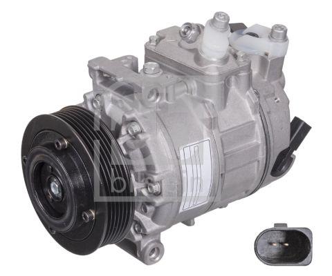 45162 FEBI BILSTEIN Riemenscheiben-Ø: 113mm Klimakompressor 45162 günstig kaufen