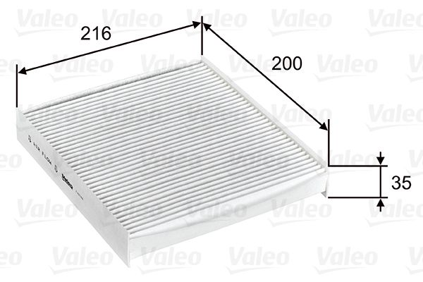 Achetez Système de chauffage VALEO 715746 (Largeur: 200mm, Hauteur: 35mm, Longueur: 216mm) à un rapport qualité-prix exceptionnel