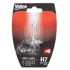 Achat de H7 VALEO +50% LIGHT 55W, H7, 12V Ampoule, projecteur longue portée 032518 pas chères