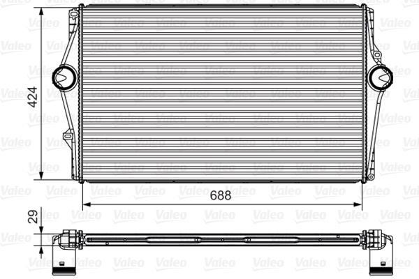 Tarpinis suslėgto oro aušintuvas, kompresorius 818281 pirkti - 24/7