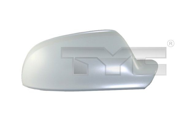 Audi A4 2014 Cover, outside mirror TYC 302-0092-2: Left, Primed