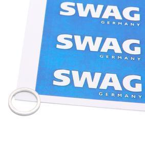 Įsigyti ir pakeisti tarpiklis, alyvos išleidimo angos kaištis SWAG 99 90 7106