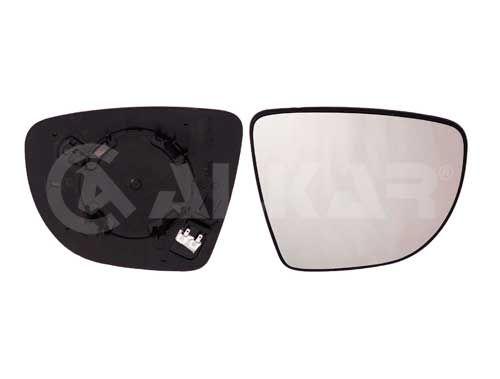 Spiegelglas RENAULT Captur II links und rechts 2021 - ALKAR 6432178 ()