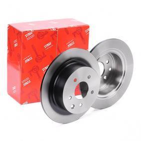 DF7369 TRW Voll, lackiert Ø: 292mm, Lochanzahl: 5, Bremsscheibendicke: 9mm Bremsscheibe DF7369 günstig kaufen