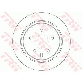 DF7369 Bremsscheibe TRW Test