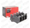 Bremsbelagsatz, Scheibenbremse STARK SKBP-0011183 Bewertungen
