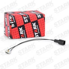 Pērc un aizvieto Indikators, Bremžu uzliku nodilums STARK SKWW-0190053
