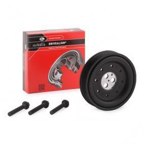 TVD1060 GATES mit Zubehör, FleetRunner™ Micro-V® Kit Riemenscheibe, Kurbelwelle TVD1060A günstig kaufen
