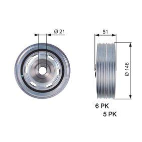 784510087 GATES ohne Zubehör, FleetRunner™ Micro-V® Kit Riemenscheibe, Kurbelwelle TVD1083 günstig kaufen