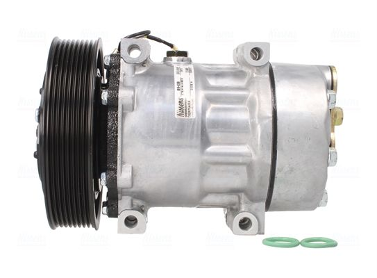 NISSAN NT400 2019 Fahrzeugklimatisierung - Original NISSENS 89458 Riemenscheiben-Ø: 149mm, Anzahl der Rillen: 8