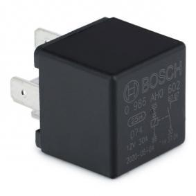 0986AH0602 Relay, main current BOSCH 0 986 AH0 602 - Huge selection — heavily reduced