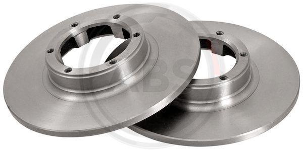 Achetez Tuning A.B.S. 15100 (Ø: 228mm, Jante: 6Trou, Épaisseur du disque de frein: 10mm) à un rapport qualité-prix exceptionnel