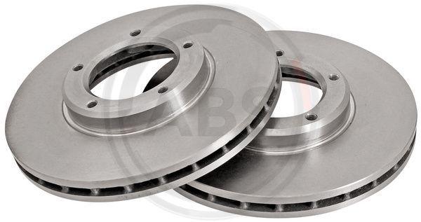 Achetez Disques de frein A.B.S. 15659 (Ø: 257mm, Jante: 5Trou, Épaisseur du disque de frein: 25mm) à un rapport qualité-prix exceptionnel