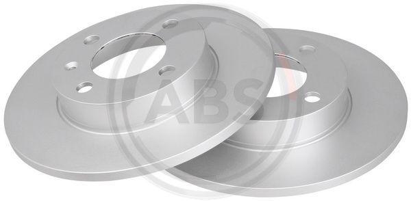 A.B.S. 15703 (Ø: 239mm, Jante: 4Trou, Épaisseur du disque de frein: 9,9mm) : Disque VW Polo 86c 1990