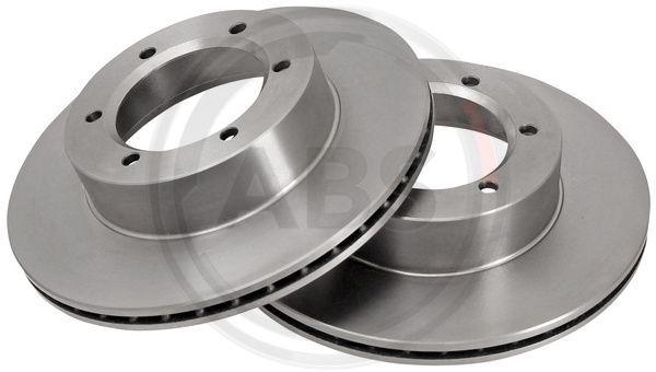 Achetez Disque A.B.S. 15980 (Ø: 289mm, Jante: 6Trou, Épaisseur du disque de frein: 20mm) à un rapport qualité-prix exceptionnel