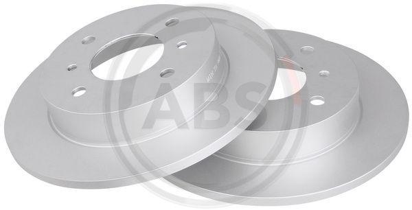 NISSAN ALMERA 2014 Scheibenbremsen - Original A.B.S. 16104 Ø: 257,8mm, Felge: 4-loch, Bremsscheibendicke: 10mm